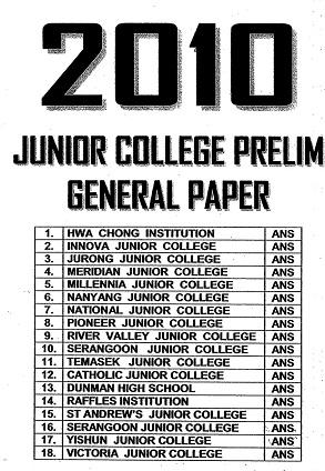 good general paper essay